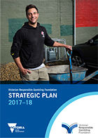 Cover of the strategic Plan 2017-18