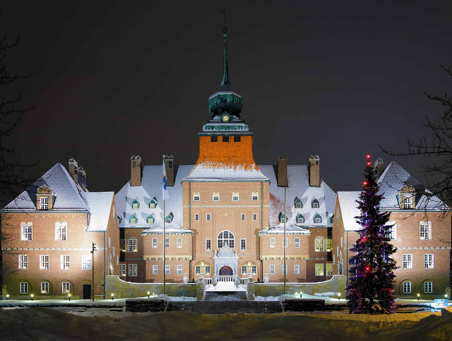 City Hall in Ostersund, Sweden